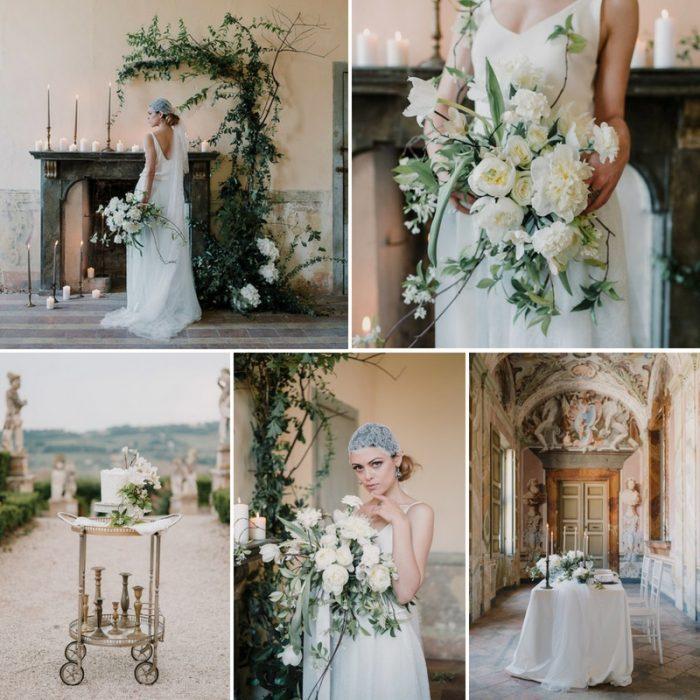 Timelessly Romantic Wedding Inspiration in an Italian Villa