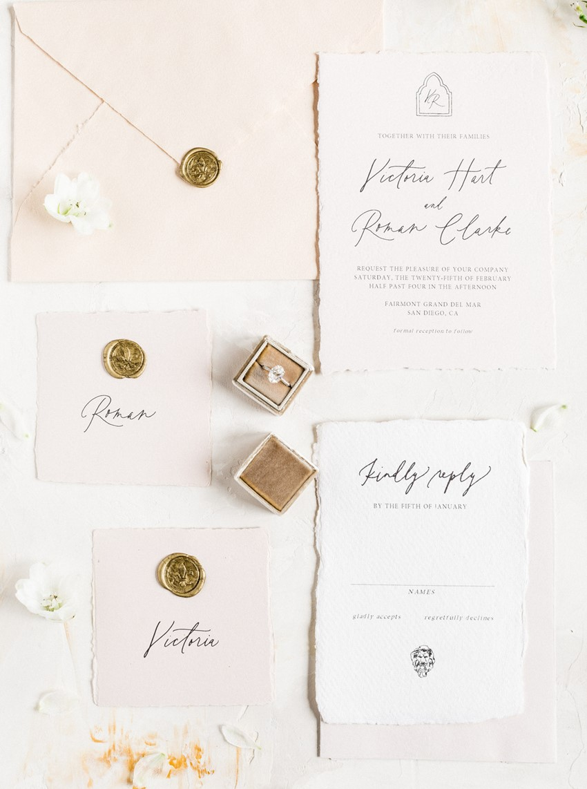 Elegant Timeless Wedding Invitation
