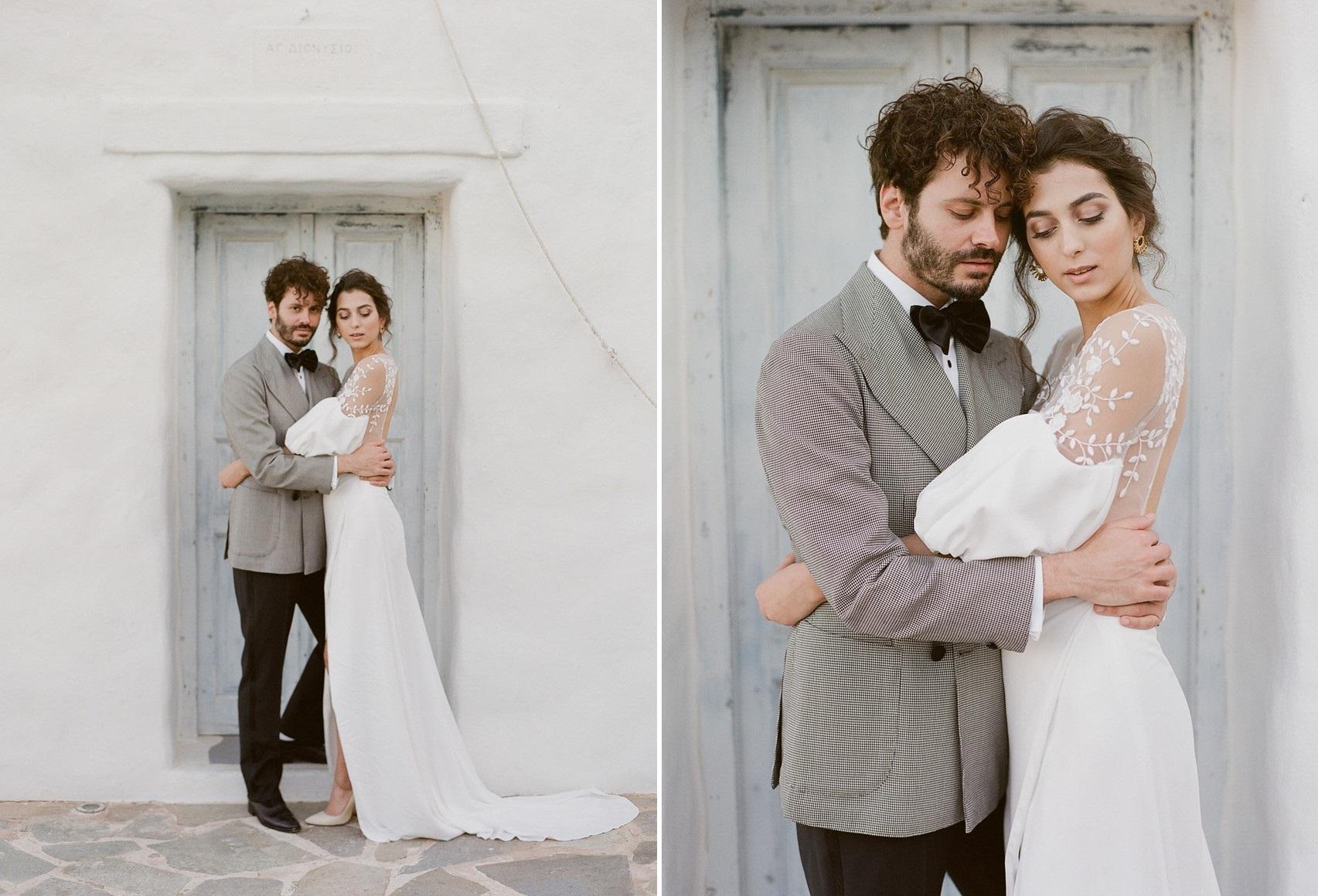 Romantic Vintage Greek Wedding Inspiration