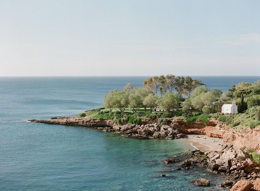 Romantic Greek Island Wedding Inspiration