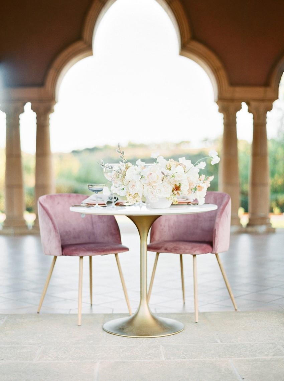 Grand Del Mar Wedding Sweetheart Table