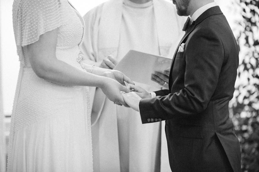 Timeless Indoor Wedding Ceremony