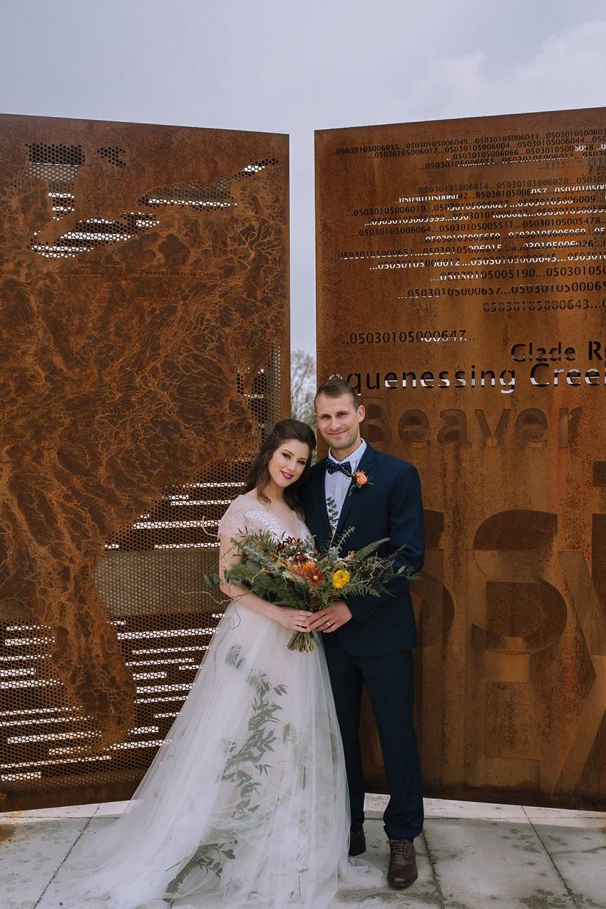 Boho Mid-Century Wedding Inspiration