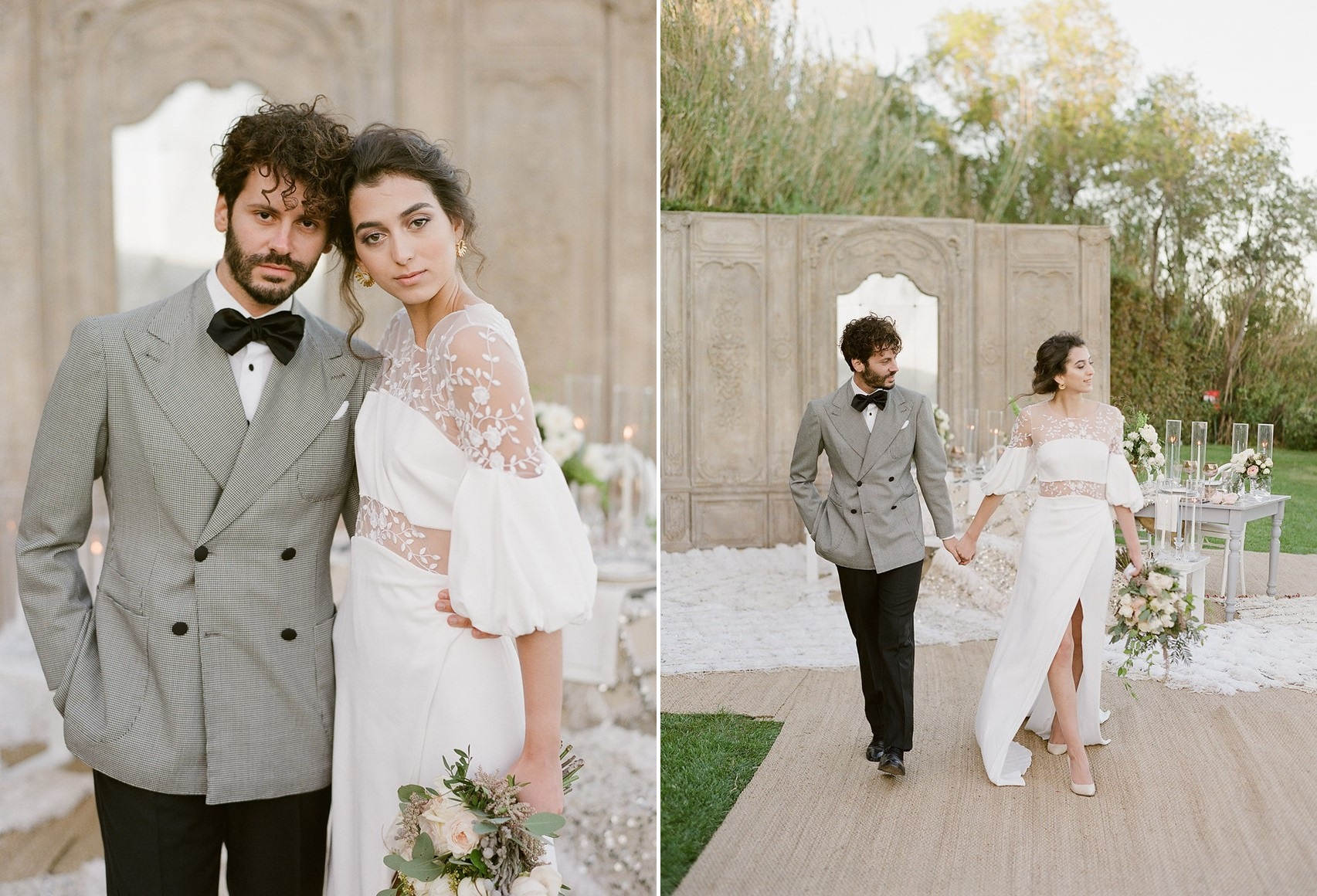 Glam Modern Vintage Wedding Inspiration