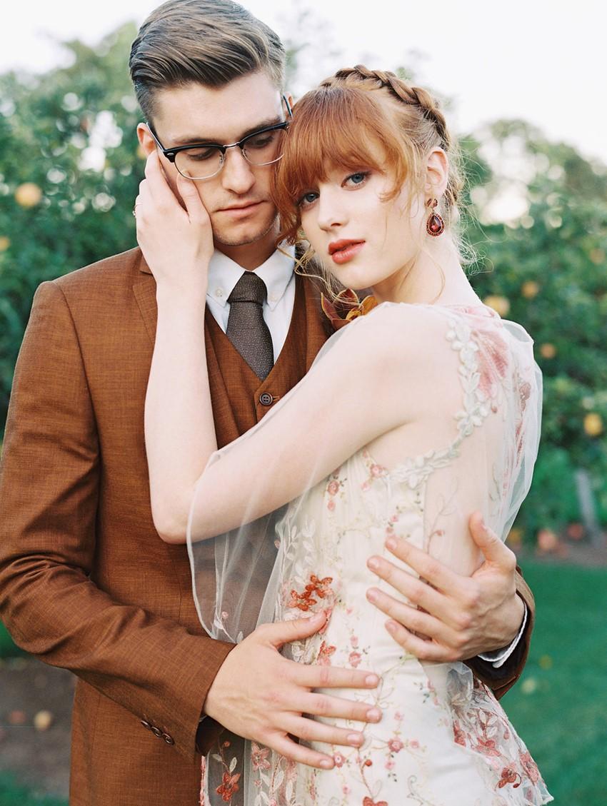 Modern Vintage Fall Wedding