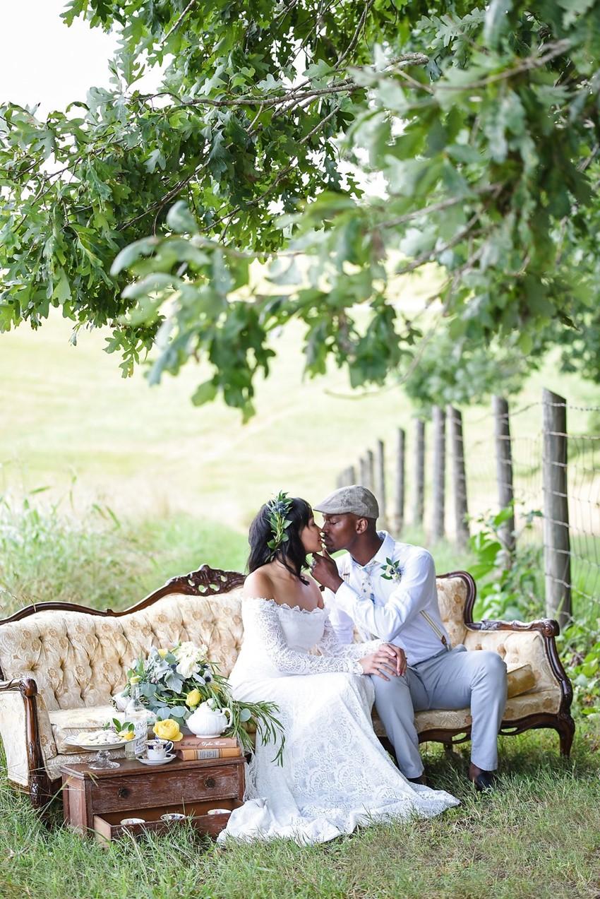 Victorian Inspired Carolina Wedding