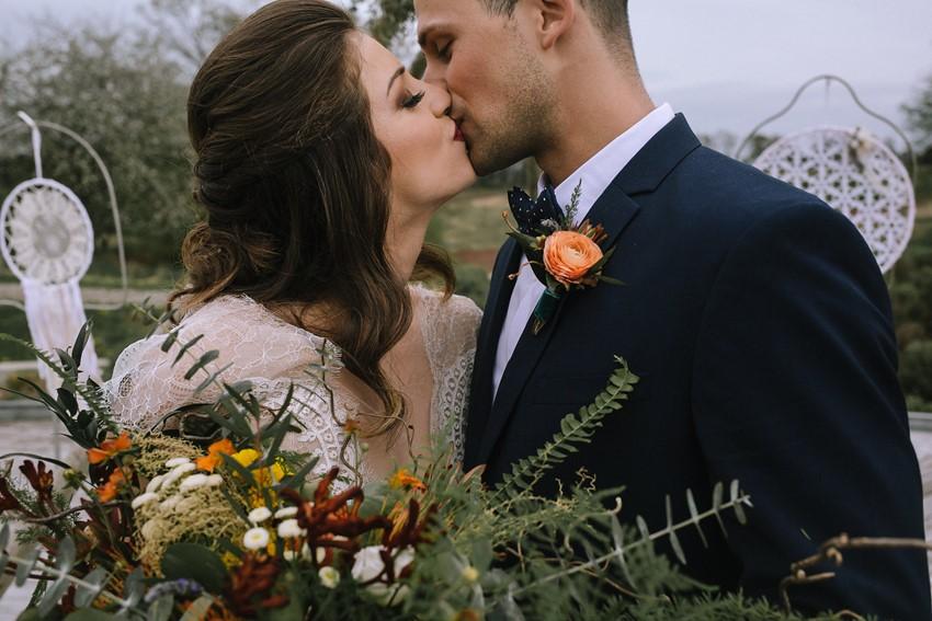 Fall Boho Vintage Wedding Inspiration