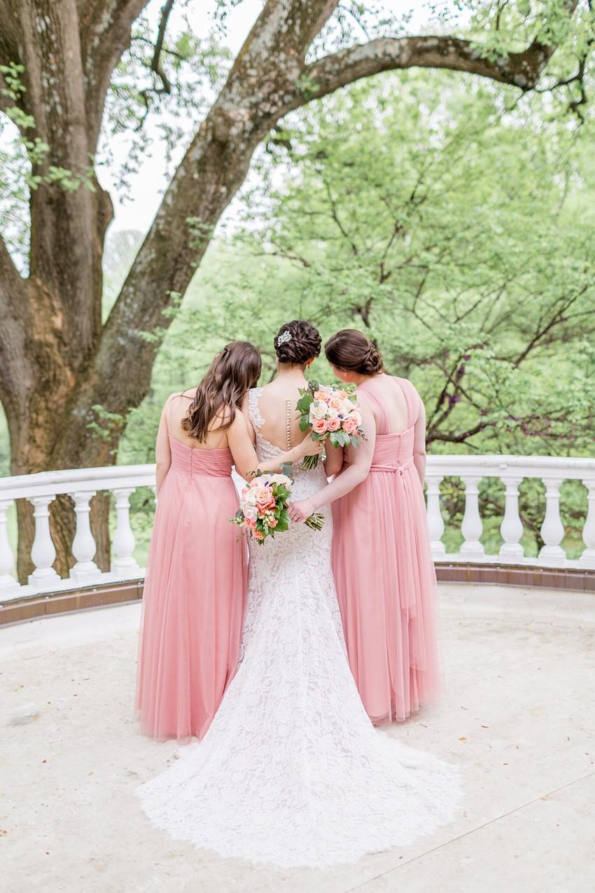 Bride & Blush Pink Bridesmaids