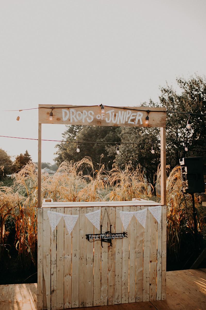 Canada Fall Greenhouse Wedding