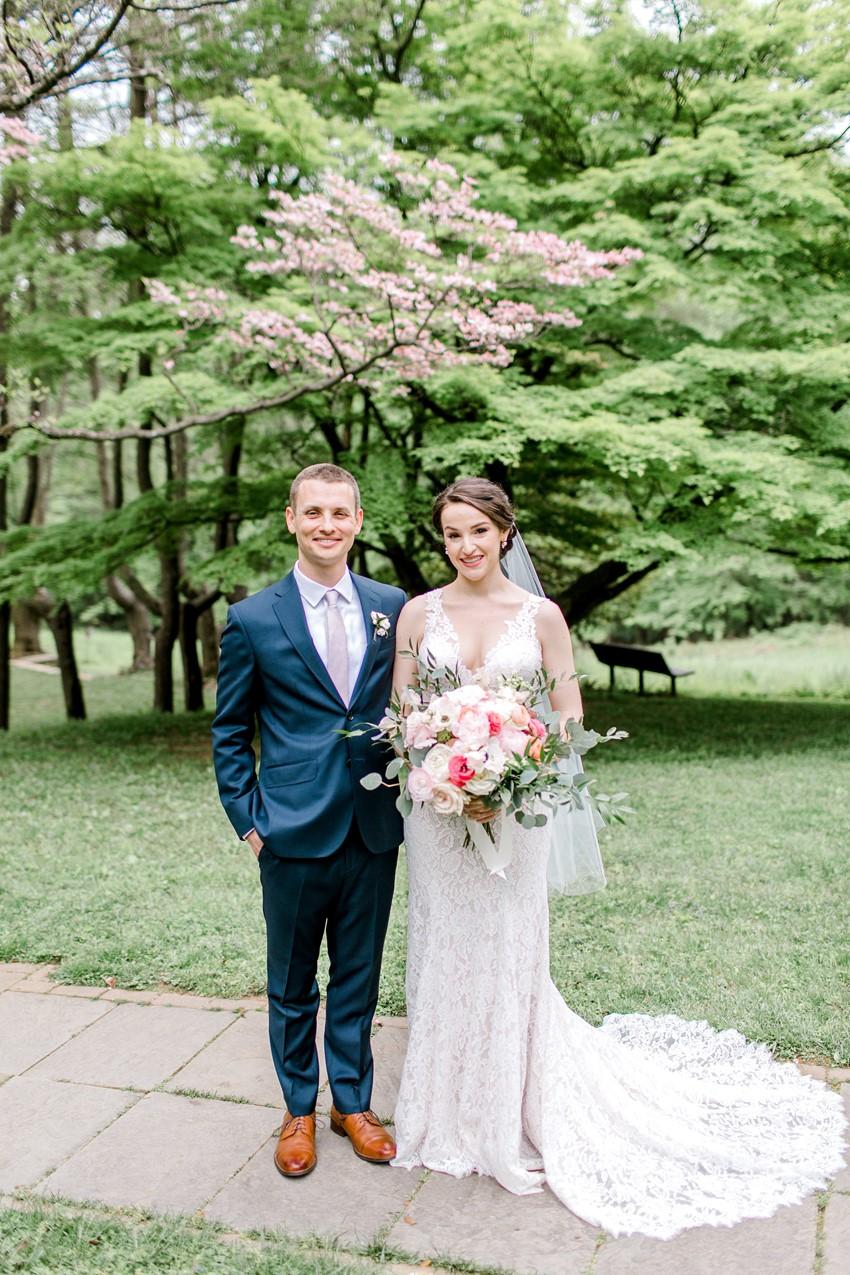 Romantic Garden Jewish Wedding