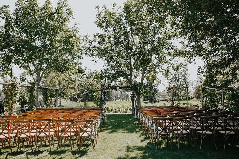 Canada Backyard Greenhouse Wedding