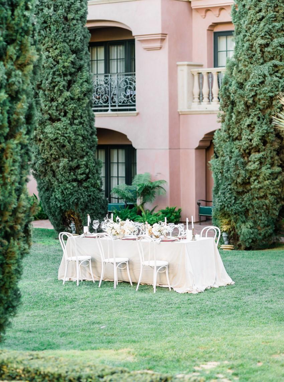Grand Del Mar Wedding Table