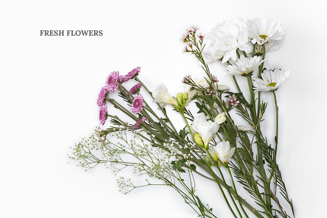 Flower Crown DIY Materials - Flowers