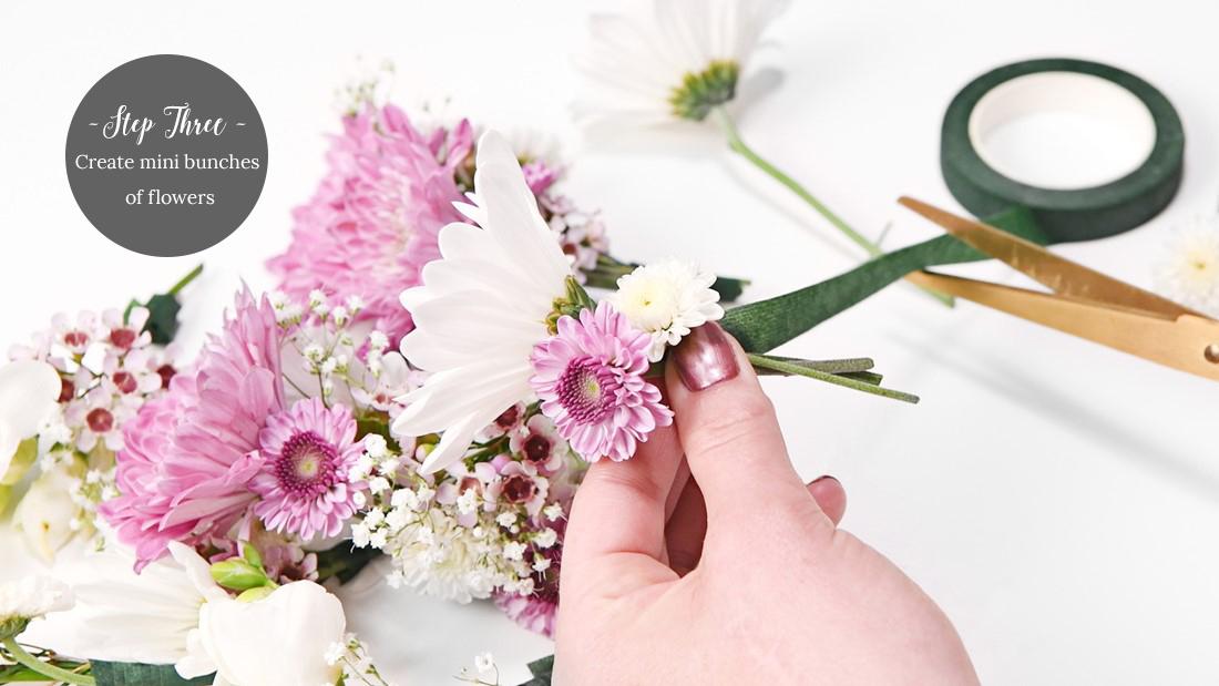 Flower Crown DIY Step 3