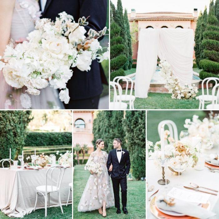 Grand Del Mar Floral Wedding Inspiration