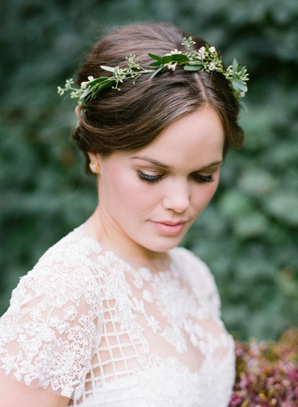 Simple Greenery Flower Crown