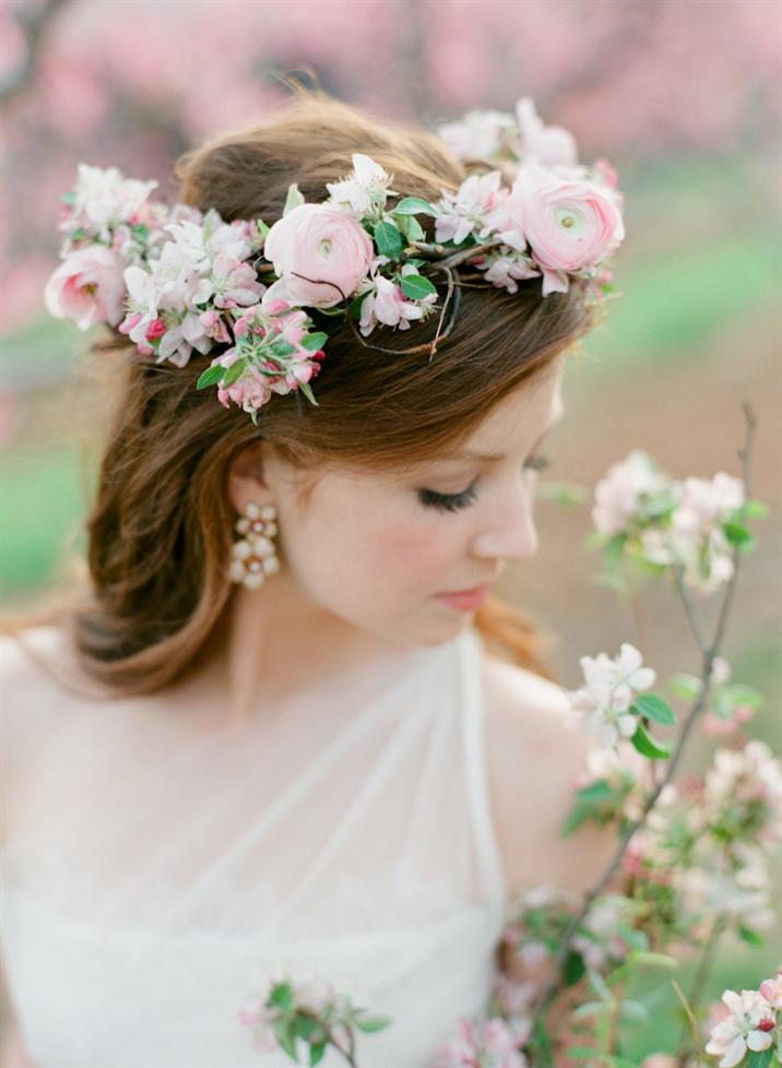 Spring Blossom Flower Crown