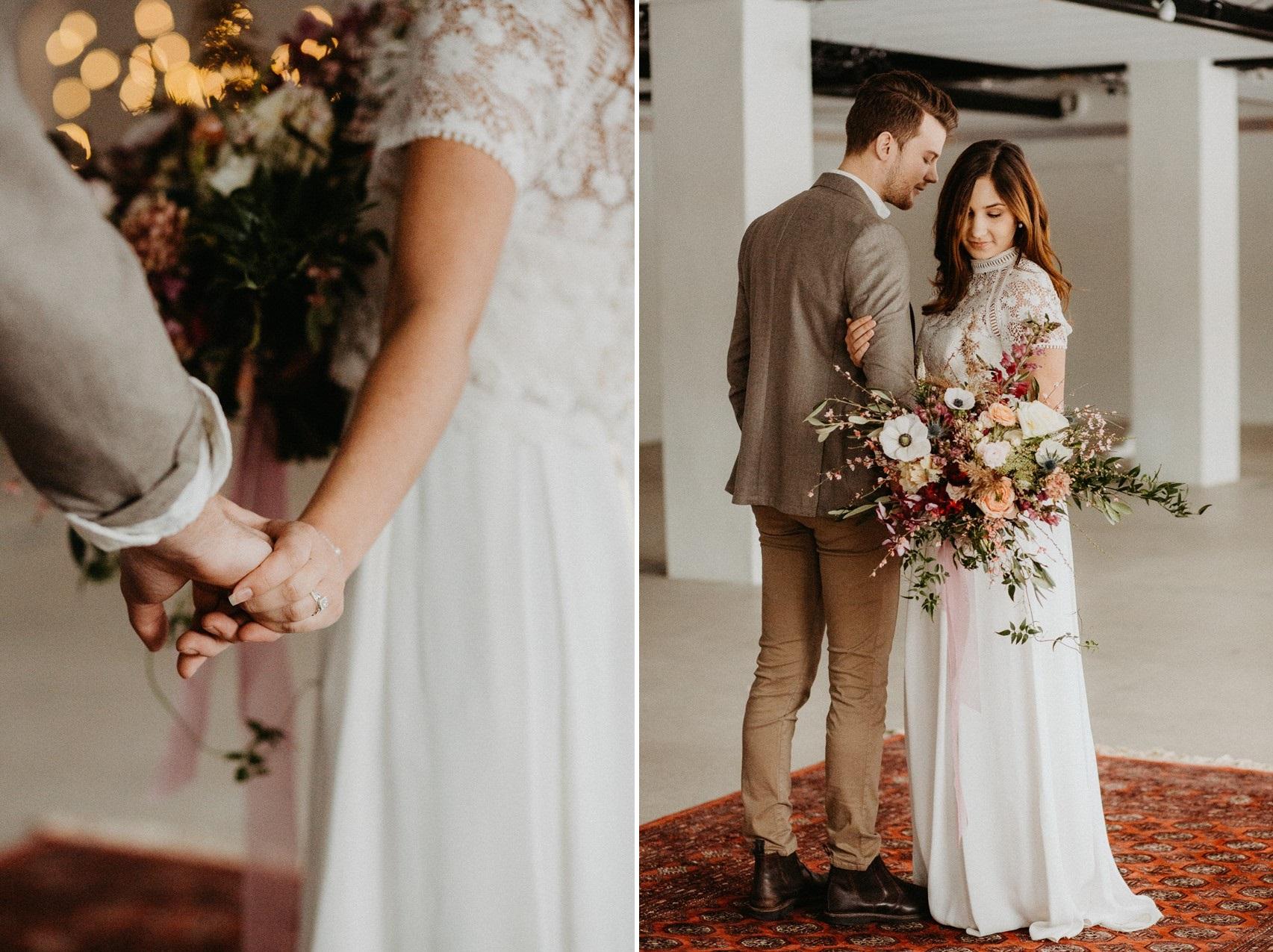 Scandi Hygge Fall Wedding Inspiration