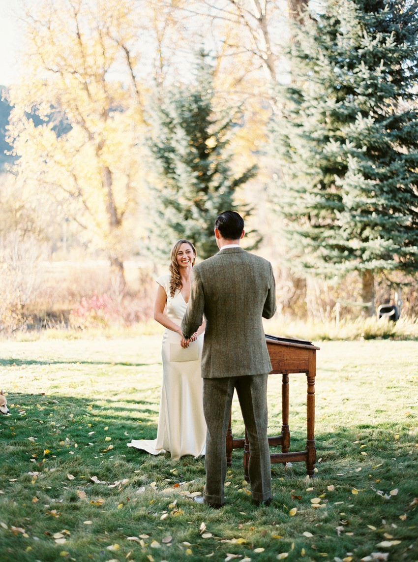 Vintage Wedding Ceremony