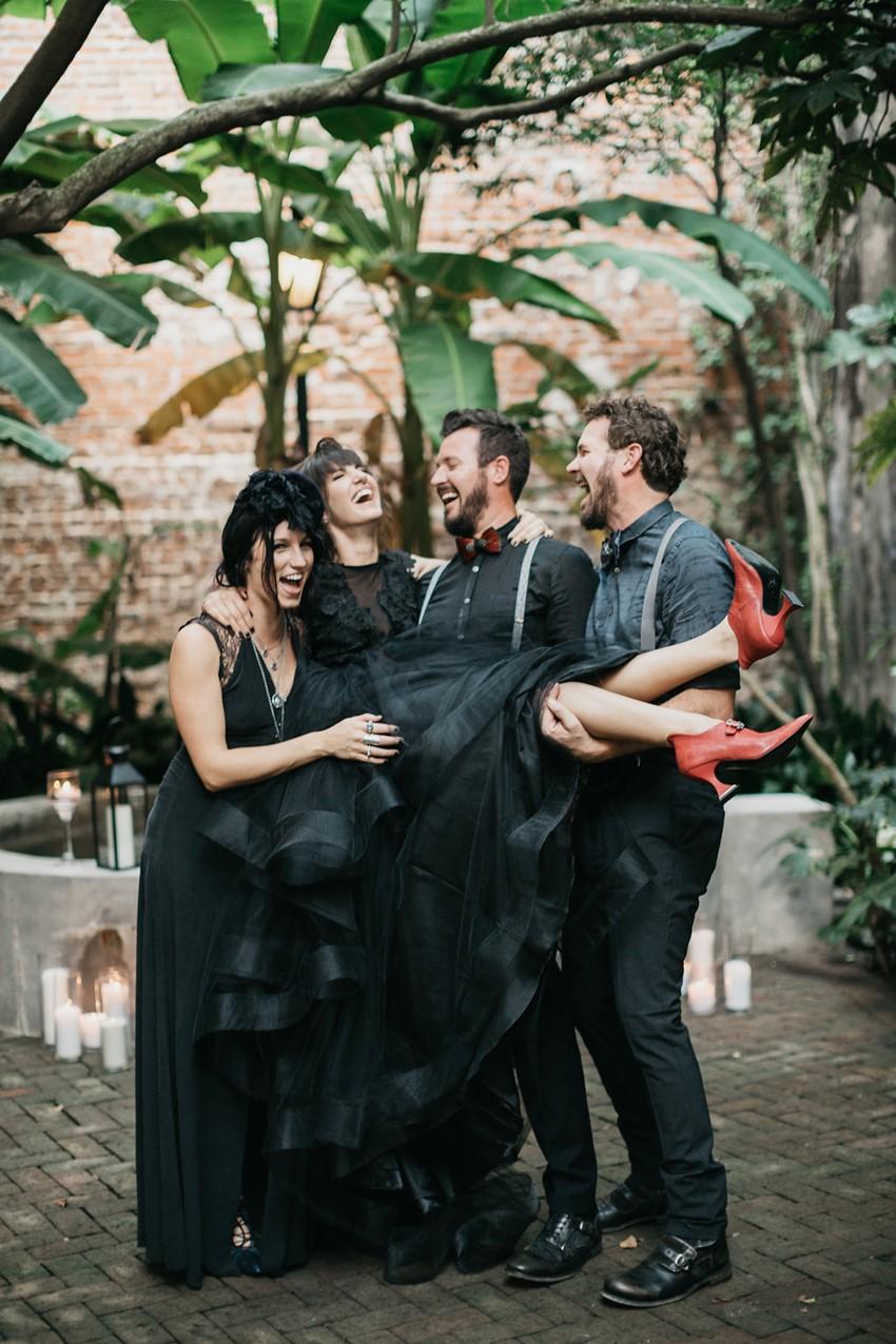 Halloween Wedding Party