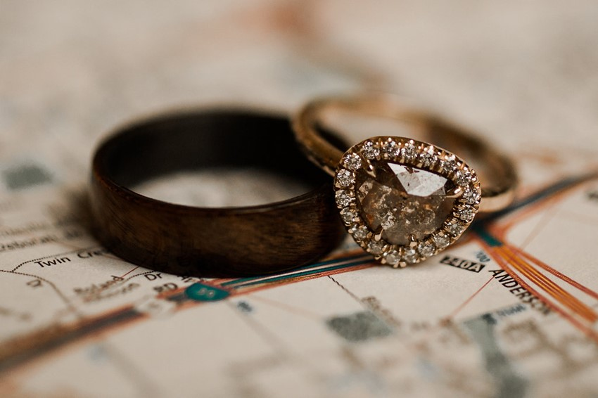 Boho Vintage Engagement Ring