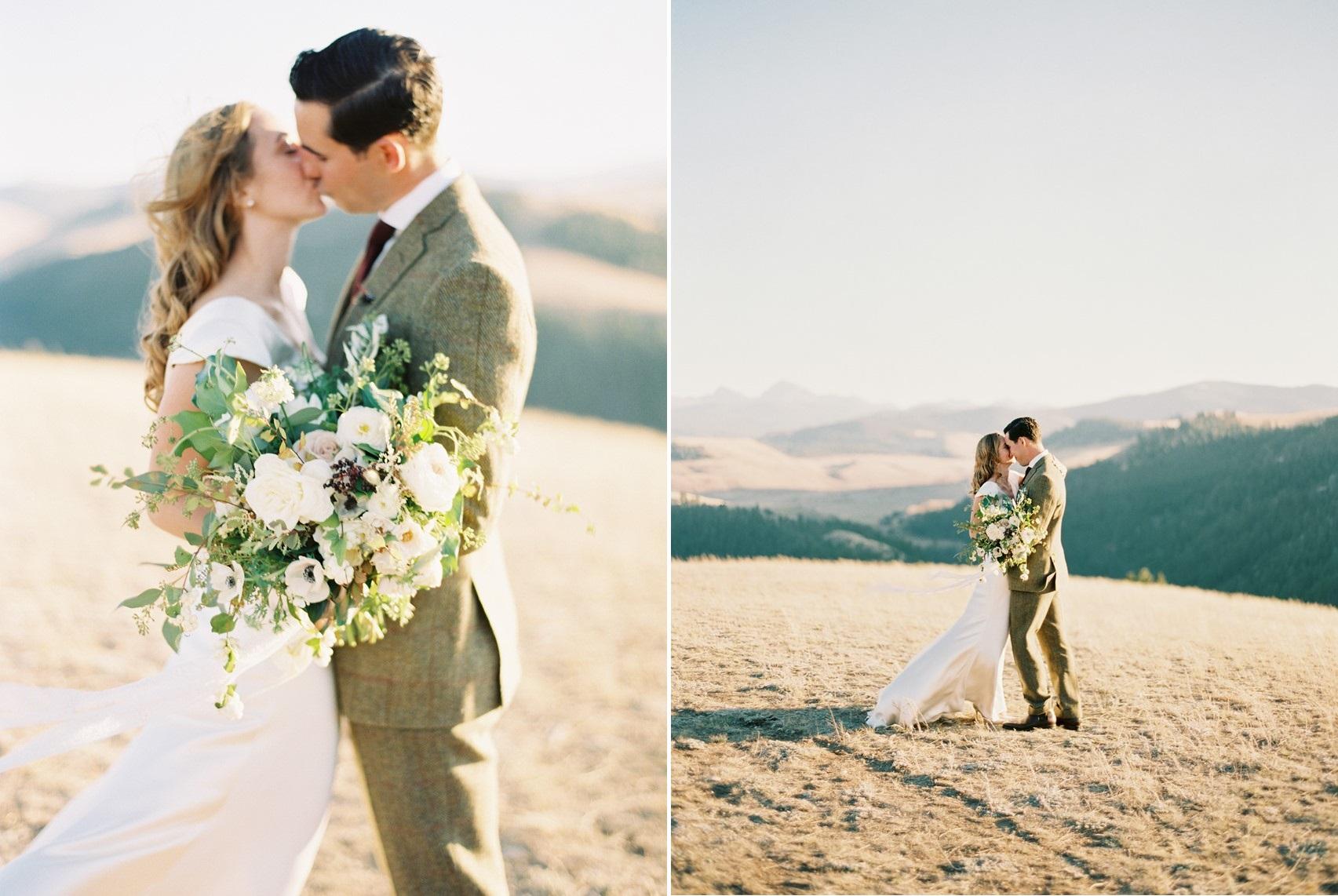 Romantic Vintage Inspired Montana Wedding