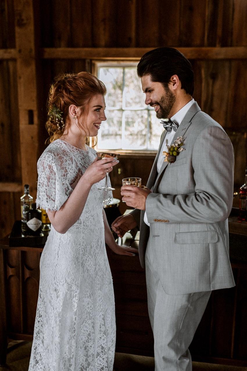 Rustic Vintage Barn Wedding Inspiration