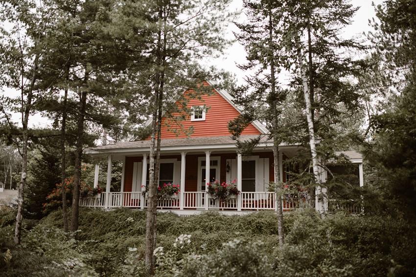 Rustic Woodland Wedding Venue