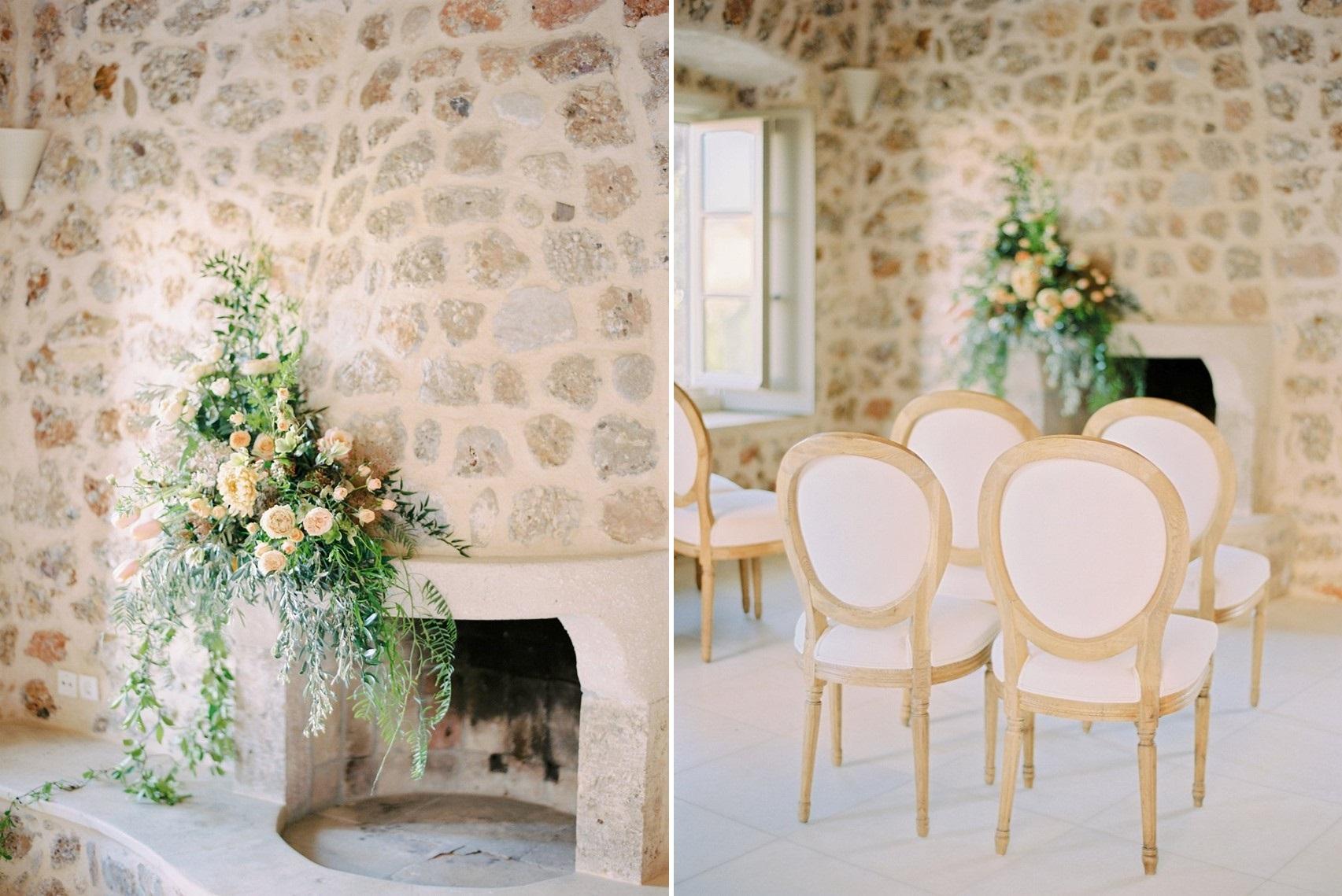 Villa Indoor Wedding Ceremony