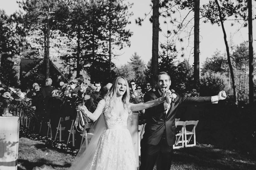 Romantic Rustic Wedding Ceremony