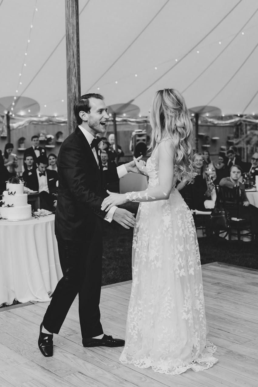 Marquee Wedding First Dance