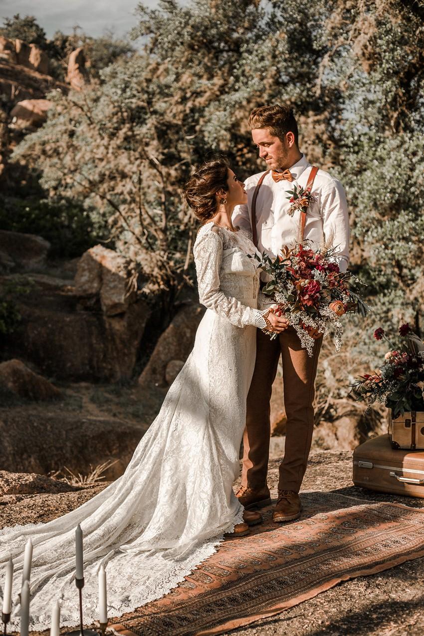 Boho Vintage Fall Wedding Inspiration
