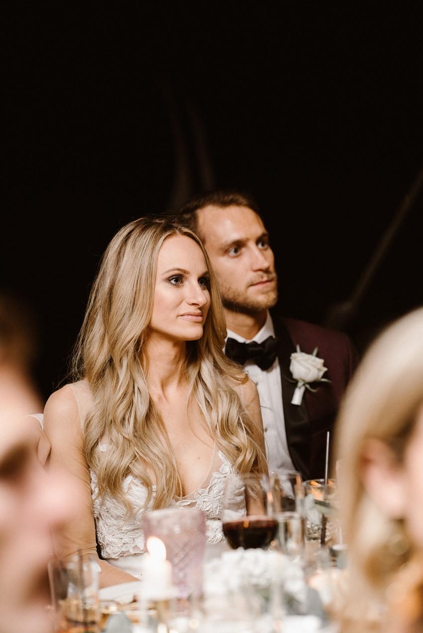 Marquee Woodland Wedding Reception