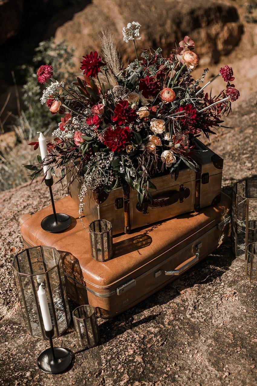 Boho Vintage Fall Wedding Decor