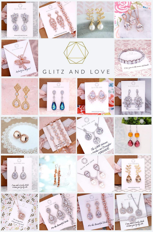 Glitz & Love Holiday Sale on Bridal Jewelry Sets
