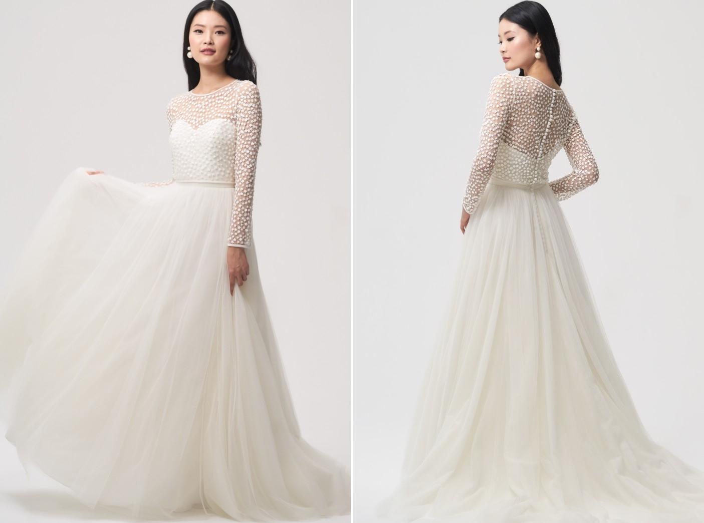 Jenny Yoo Gigi Bridal Topper