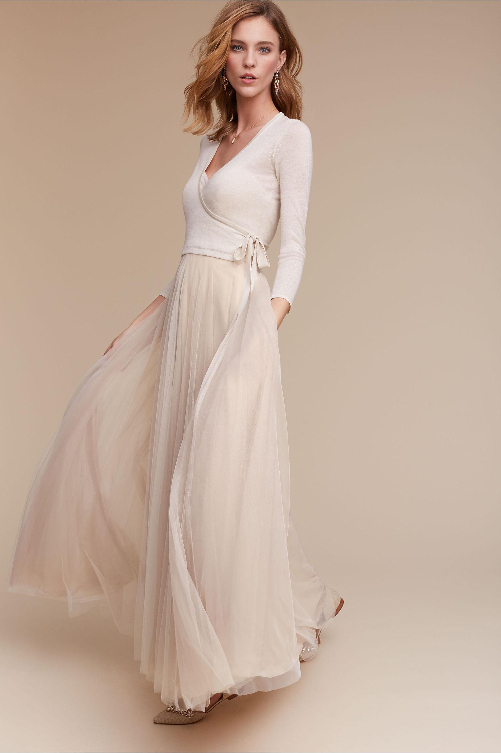 Cashmere Wrap Bridal Cardi