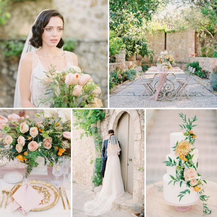 Modern Vintage Wedding Inspiration from Greece
