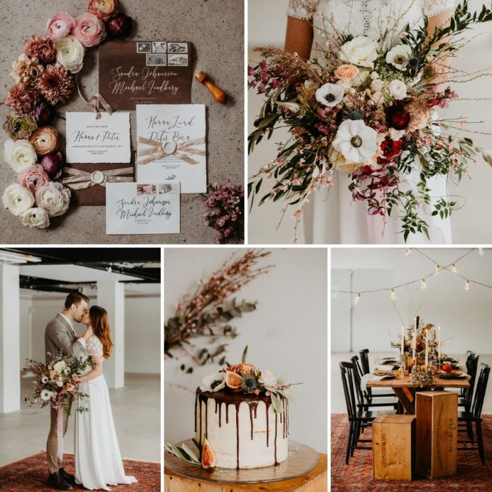 Scandinavian Fall Hygge Wedding Inspiration