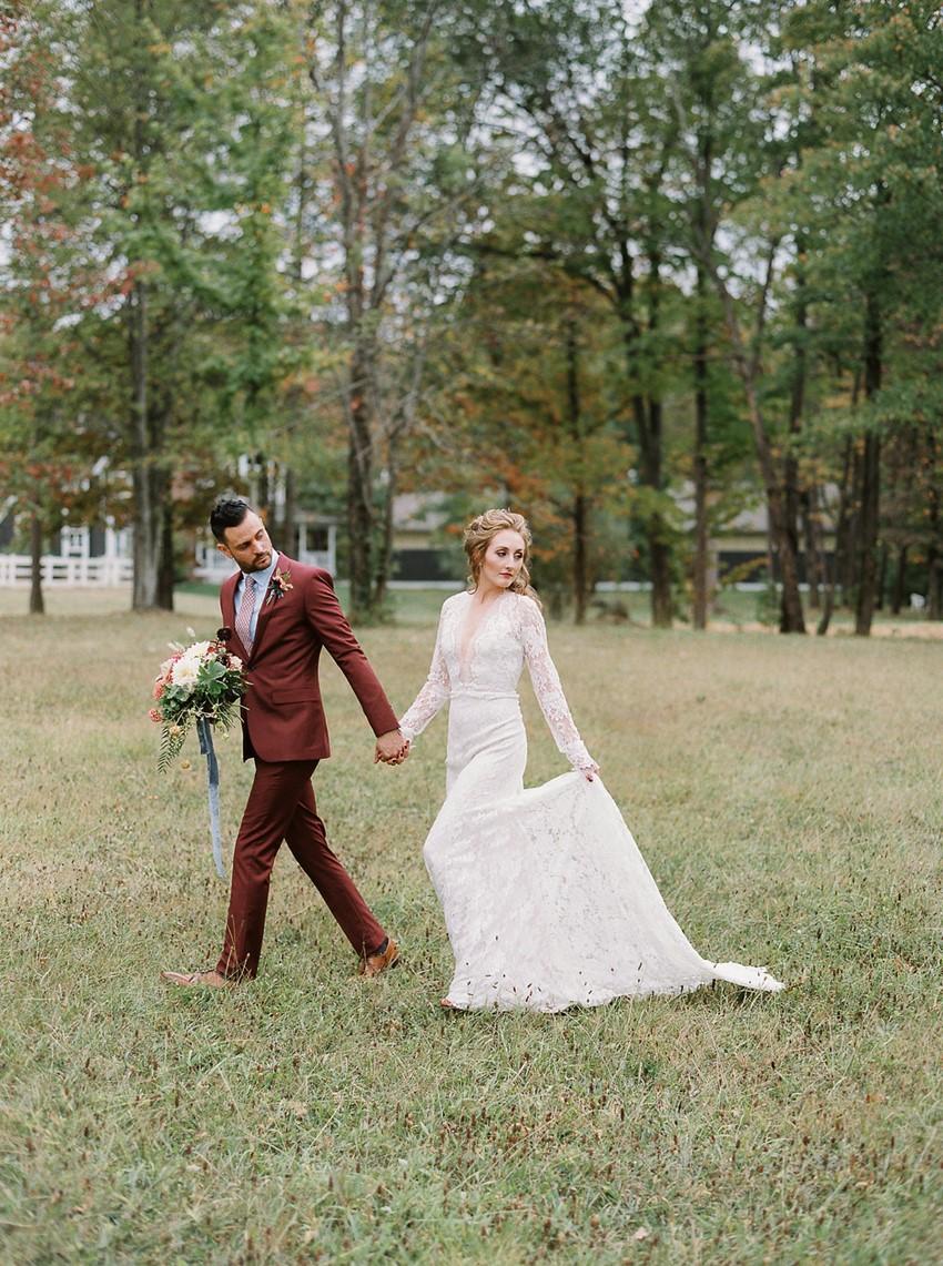 Fall Horse Farm Wedding