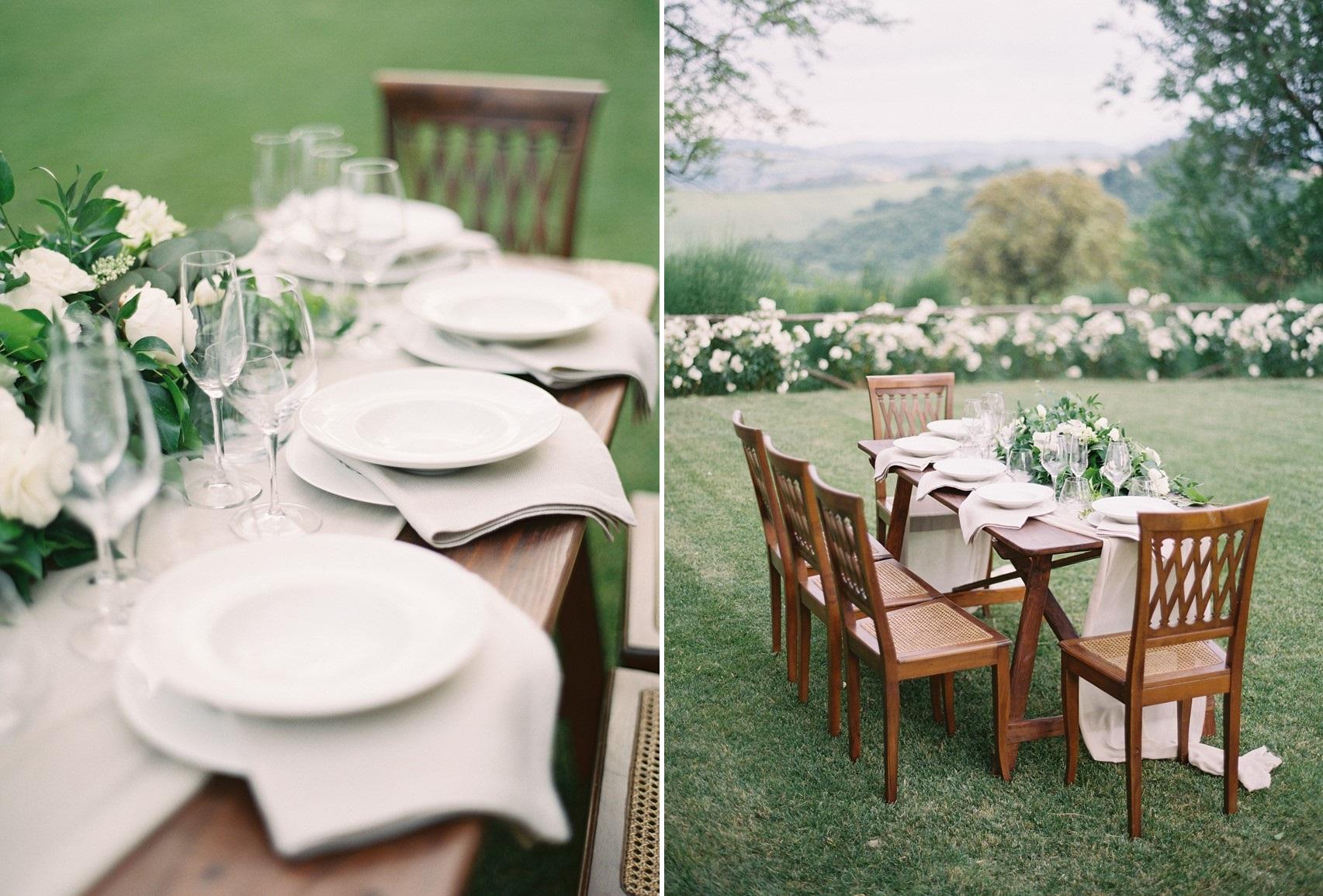 Garden Wedding Table
