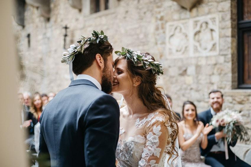 Italian Castle Wedding Ceremony