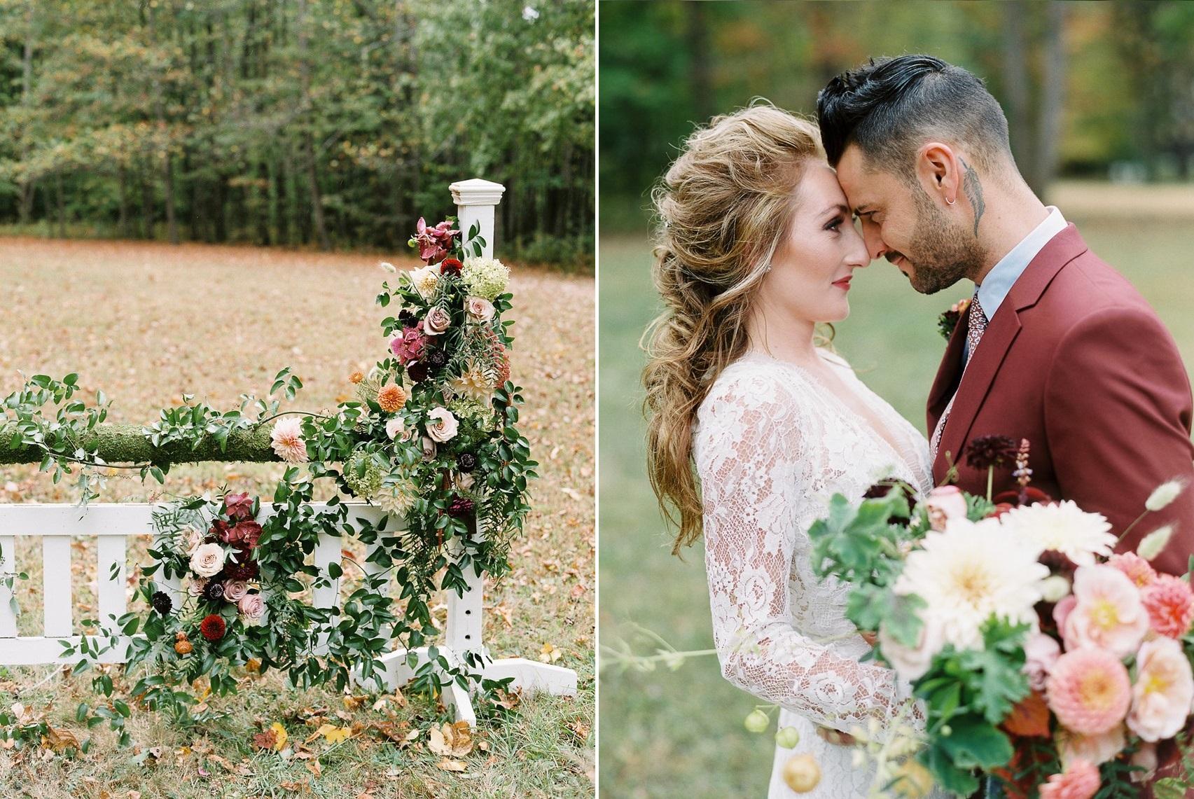 Fall Equestrian Wedding Inspiration