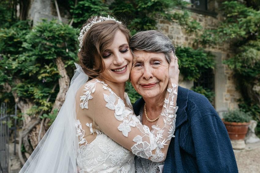 Bride & Grandma