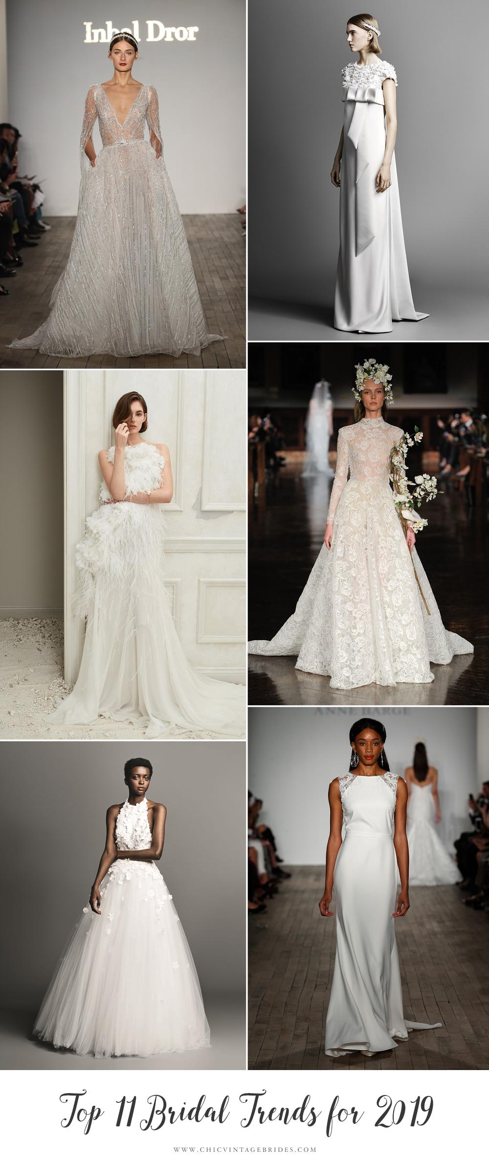 Most Beautiful 2019 Bridal Trends