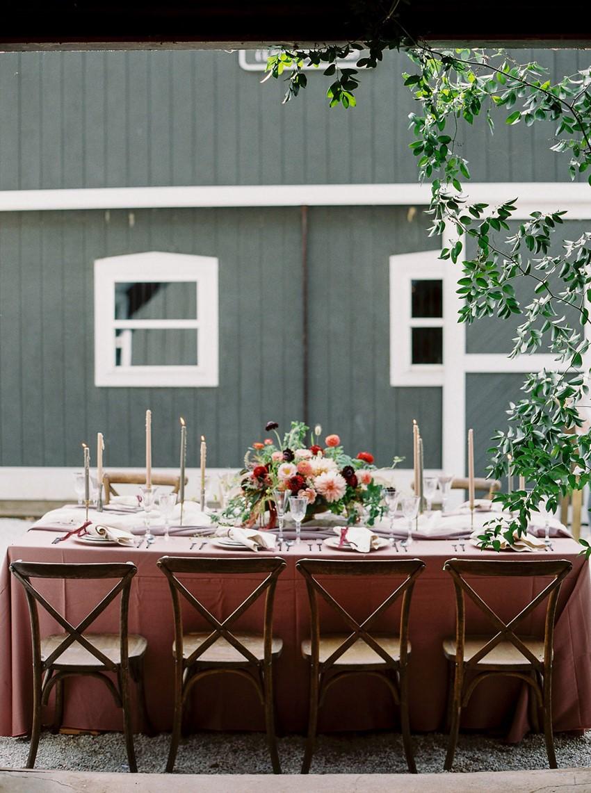 Equestrian Wedding Table