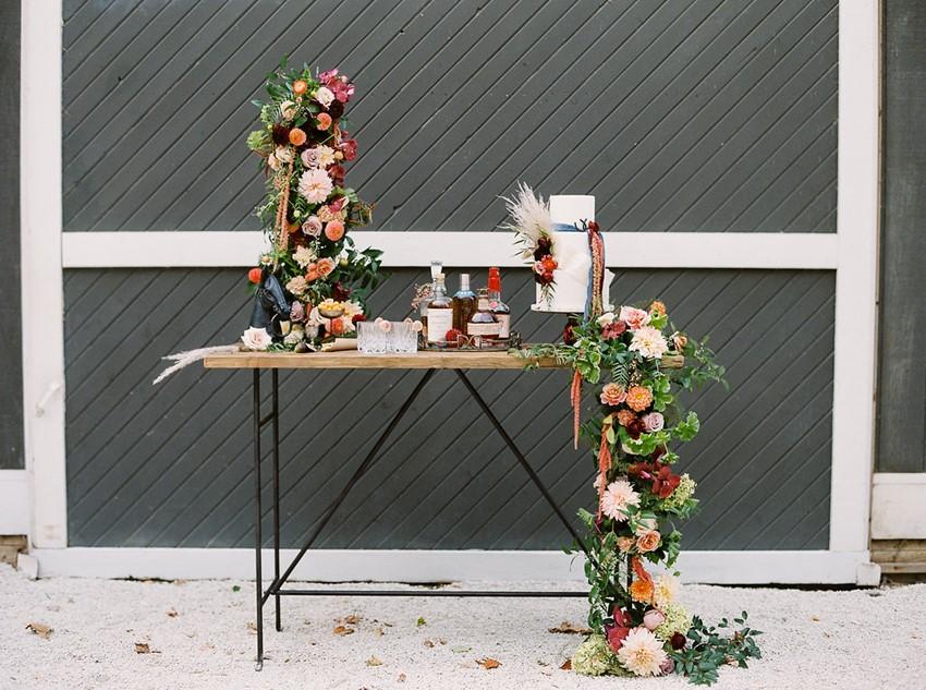 Equestrian Wedding Bar