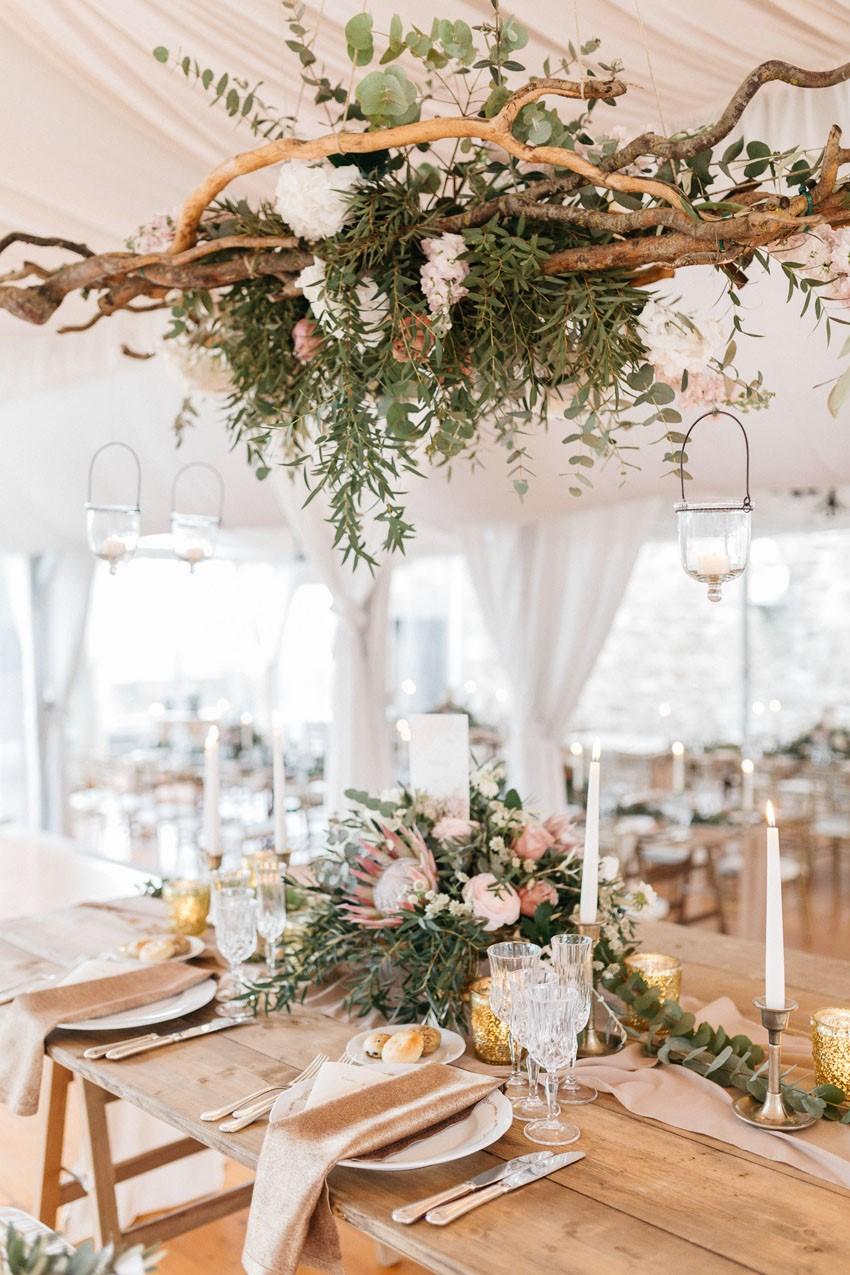 Italian Castle Wedding Table