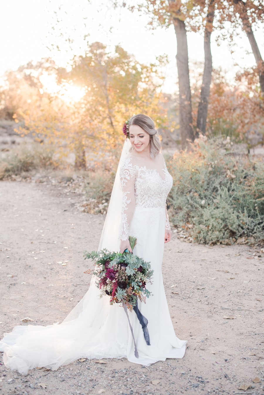 Vintage Inspired Fall Bride