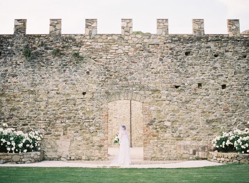 Garden Wedding Inspiration at an Italian Castle